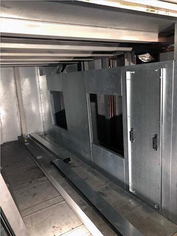 New fan bulkhead build