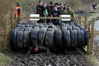 Barkell tackles Muddy Mayhem to raise funds for Brain Tumour Research and Pancreatic Cancer Research