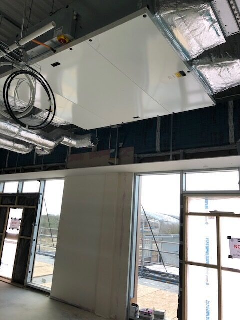 Therm-X MVHR - Football Club Installation
