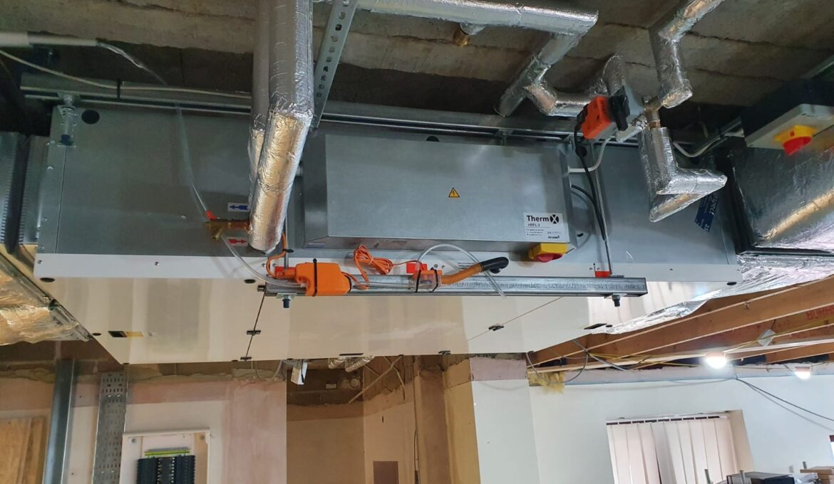 Therm-X MVHR - Hospital Installation